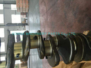 China 6d95 Cast Iron Crankshaft  6 Cylinder Engine Parts , Engine Crank Shaft Original Size supplier