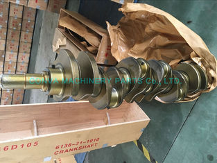 China High Performance 6d105 Diesel Engine Crankshaft Komatsu Diesel Engine Parts supplier