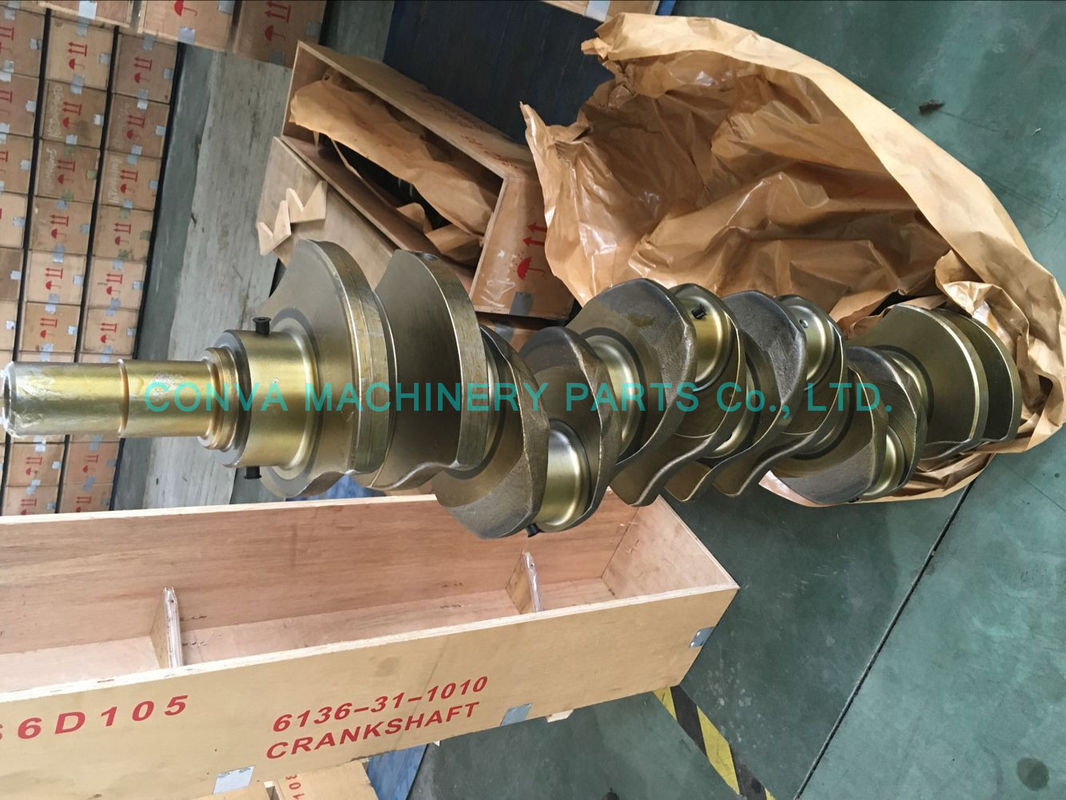 High Performance 6d105 Diesel Engine Crankshaft Komatsu